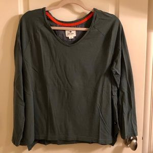 Olive Green Sperry Tee